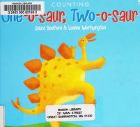 Cover of: One-o-saur, two-o-saur | Bedford, David